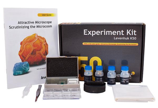 EN Levenhuk K50 Experiment Kit