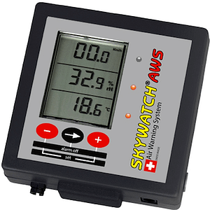 Skywatch Air Warning System Display Unit with External Alarm Interface