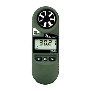 Kestrel 2500NV Weather Meter & Digital Altimeter with NV Backlight