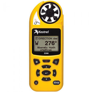 Kestrel 5500 Weather Meter (Yellow)