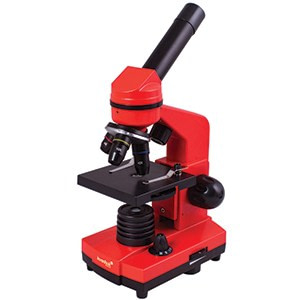 microscope levenhuk rainbow 2l orange