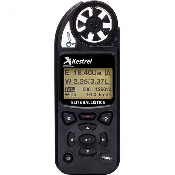Kestrel 5700 Elite Weather Meter with Applied Ballistics & LiNK (Black)